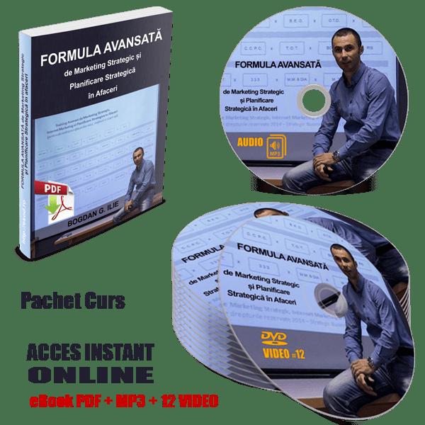 PACHET COMPLET - Formula Avansată de Marketing Strategic și Planificare Strategică în Afaceri 1