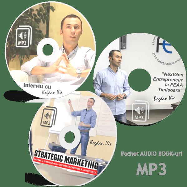 "PACHET 3 CURSURI MP3 - ""Cum sa-ti cresti Vanzarile; Cum sa gandesti strategic in afaceri si Cum sa faci Marketing si Internet Marketing Eficient"" 1"