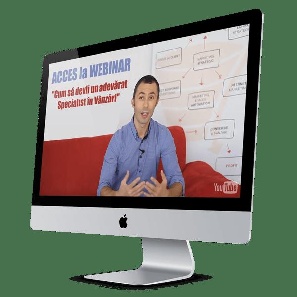 [ ACCES la WEBINAR ] - Cum să devii un adevărat Specialist în Vânzări, folosind metoda Vânzării Holistice 1
