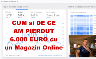 Despre Magazine Online - indicatori de performanta si importanta urmaririi statisticilor zilnice. 6