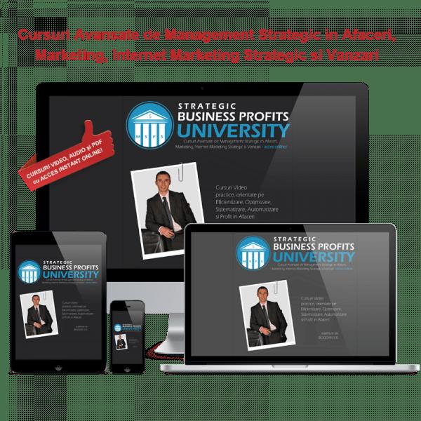 Strategic Business Profits University - Acces Online! 1