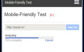 Test Responsive Google