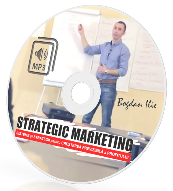 MP3 - Cum sa Gandesti Strategic in Afaceri. Despre Sisteme, Vanzari si Profit. 1