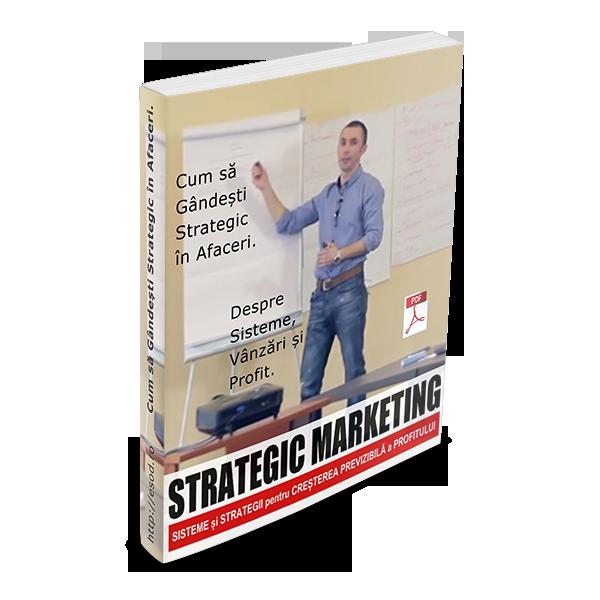 PDF – Cum sa Gandesti Strategic in Afaceri. Despre Sisteme, Vanzari si Profit.