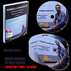 PACHET COMPLET – Formula Avansată de Marketing Strategic și Planificare Strategică în Afaceri