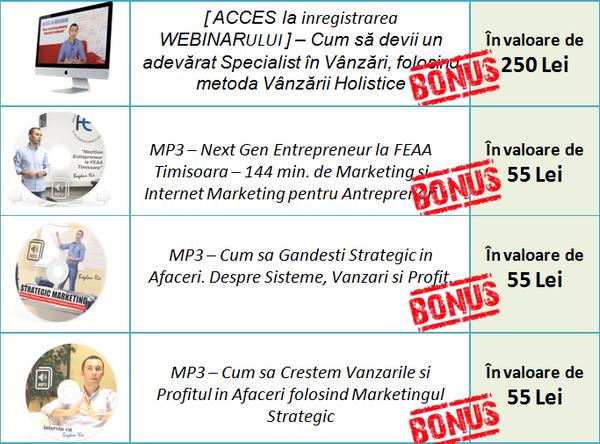 Curs Marketing - FORMULA Avansata de Marketing - PACHET 2