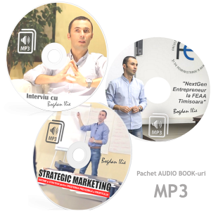 "PACHET 3 CURSURI MP3 – ""Cum sa-ti cresti Vanzarile; Cum sa gandesti strategic in afaceri si Cum sa faci Marketing si Internet Marketing Eficient"""