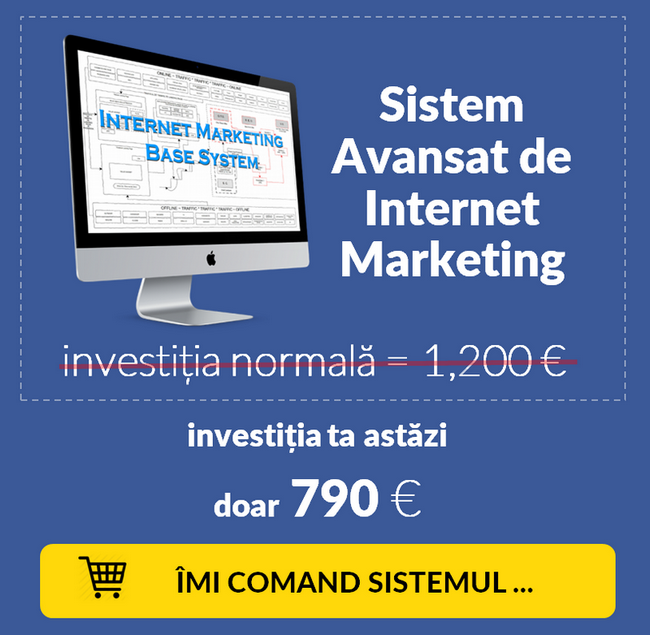 Live Webinar - 5 Elemente de Internet Marketing - Oferta 2